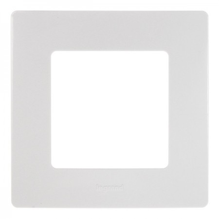 Větrací mřížka z vysoce kvalitního extrudovaného hliníku - 450x450 mm, bílá