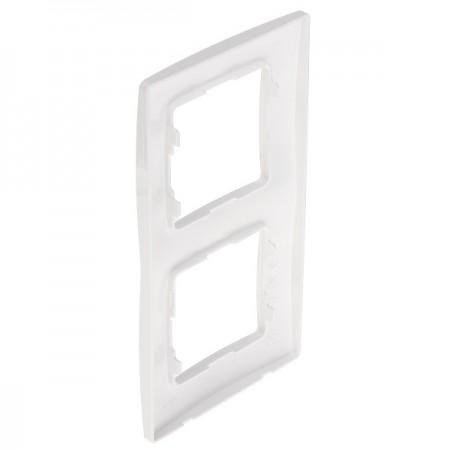Větrací mřížka z vysoce kvalitního extrudovaného hliníku - 500x150 mm, bílá