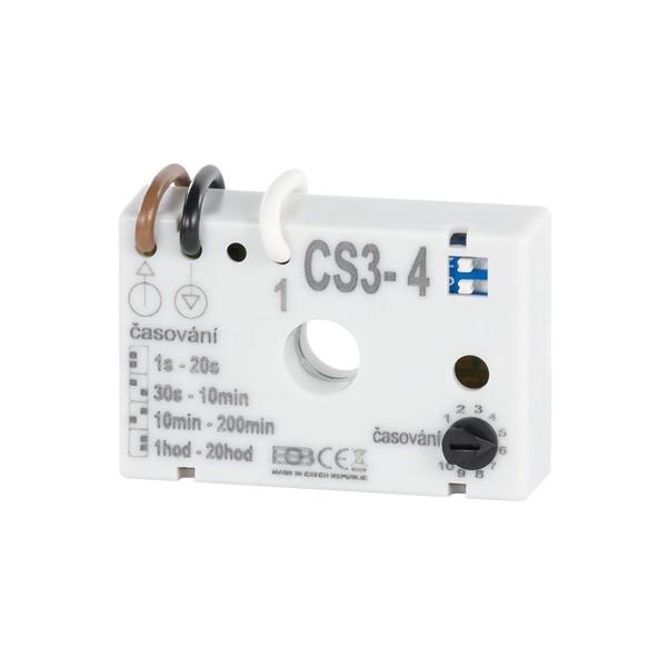 Časový spínač pod vypínač CS3-4