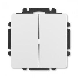 Vypínač ABB SWING č.5 sériový - lustrový, bílý