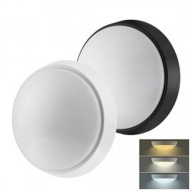 LED svítidlo WO778 s nastavitelnou CCT, 22cm, 12W, 900lm, 3000-6000K, bílý a černý kryt, IP54