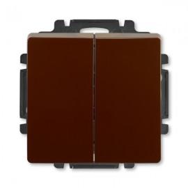 Vypínač ABB SWING č.5 sériový - lustrový, hnědý
