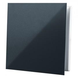Dekorativní větrací mřížka plastová 160x160 mm GP 100 FLAT BLACK