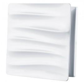 Dekorativní větrací mřížka plastová 160x160 mm GP 100 SURGE - vlny