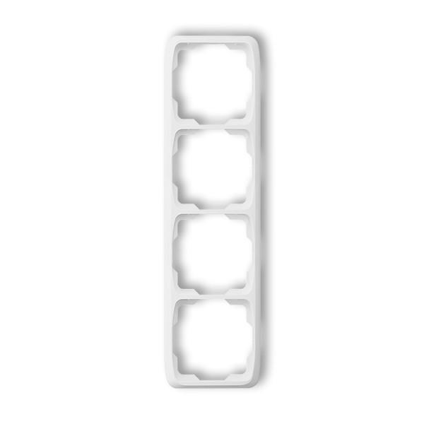 Vypínač Opus č. 6 střídavý - schodišťový, bílý