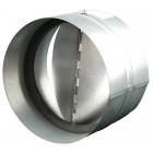 Zpětná klapka 125 mm kovová Zn