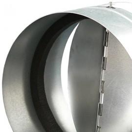 Zpětná klapka 150 mm kovová Zn