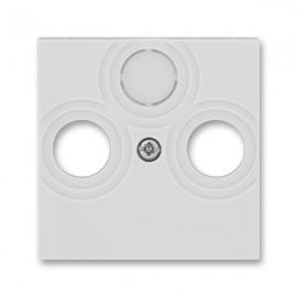 Kryt TV-R-SAT zásuvky ABB LEVIT šedý