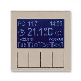 Termostat ABB LEVIT digitální univerzální macchiato / bílá