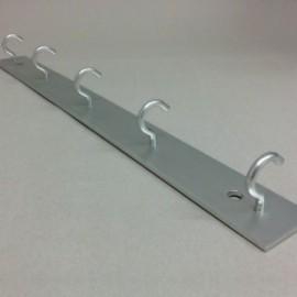 Sušák na prádlo balkonový 50cm -5 háčků - Držák prádelních šňůr