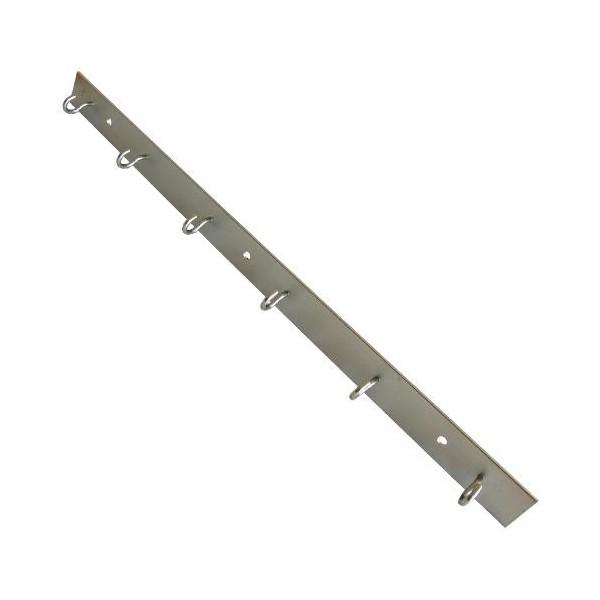 Sušák na prádlo balkonový 80cm -6 háčků - Držák prádelních šňůr