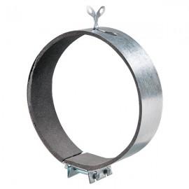 Kovová upevňovací svorka s tlumící gumou Ø150mm