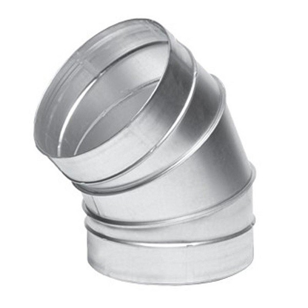 Koleno kovové 45° - Ø 150mm