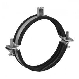 Úchyt s gumou pro SPIRO potrubí Ø80mm