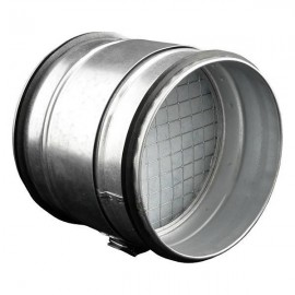 Filtr do potrubí na hrubé nečistoty Ø100mm Dalap KAP 100