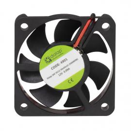 Větrák do PC 12V, 50x50x10 mm, 5000 ot./min.