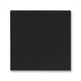 Kryt vypínače ABB LEVIT M jednoduchý, onyx / kouřová černá