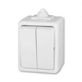Venkovní vypínač IP44 na zeď č.5 ABB 3553-05929 B