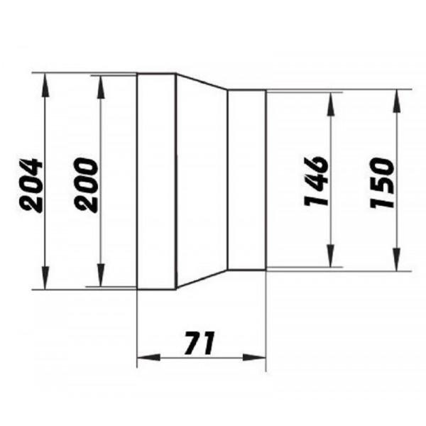 Větrací mřížka plastová 250 x 250 mm bez příruby MV250s