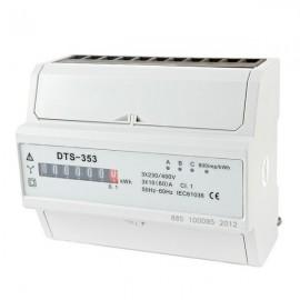 Elektroměr na DIN lištu DTS 353-M 60A 7M třífázový 5-60A