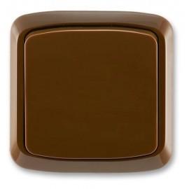 Vypínač Tango ABB jednopólový komplet č.1 hnědý