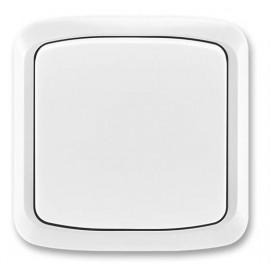 Tlačítko ABB TANGO bez kontrolky komplet bílé