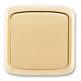 Tlačítko ABB TANGO bez kontrolky komplet béžové