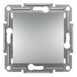 Tlačítko Asfora č.1/0, aluminium