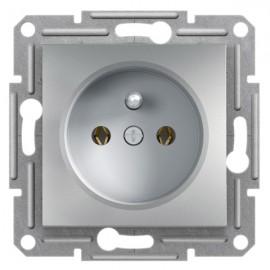 Zásuvka Asfora, aluminium