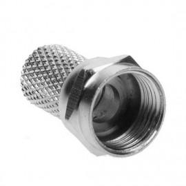 F konektor 6,5 mm, F-vidlice satelitní šroubovací
