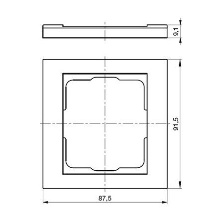 LED reflektor GAMA PROFI SMD 100W