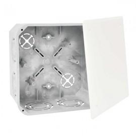 Elektroinstalační krabice s víčkem KO 125