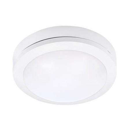 LED vestavné svítidlo s čidlem STEP 2 85×85mm, 3W, IP54 silver