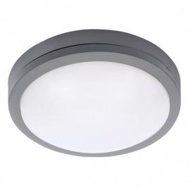 Venkovní LED osvětlení SIENA 23cm, 20W, 1500lm, IP54, šedé