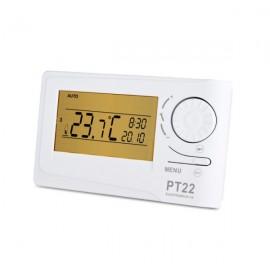 Prostorový digitální termostat PT22 bílý