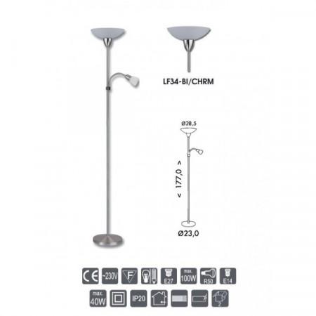 Nouzové LED svítidlo s čidlem VICTOR W131, studená bílá