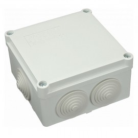 Elektroinstalační krabice na omítku IP55 S-BOX 106M průchodky 100x100x50