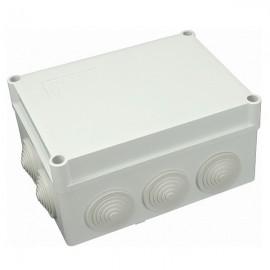Elektroinstalační krabice na omítku IP55 S-BOX 306M průchodky 150x110x70