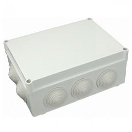 Elektroinstalační krabice na omítku IP55 S-BOX 406M průchodky 190x140x70