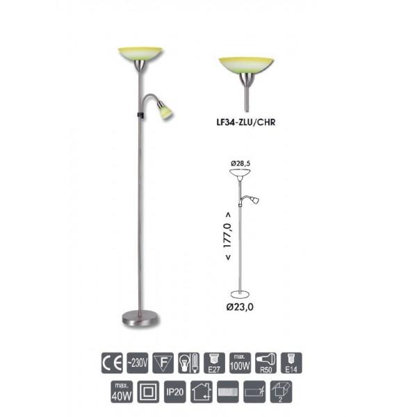 Halogenová žárovka GU10 230V 50W Greenlux