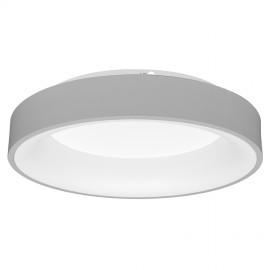 LED osvětlení s dálkovým ovladačem NEST 45cm, 40W, 2600lm stmívatelné, šedé