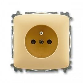 Zásuvka TANGO 5519A-A02357 D ABB béžová