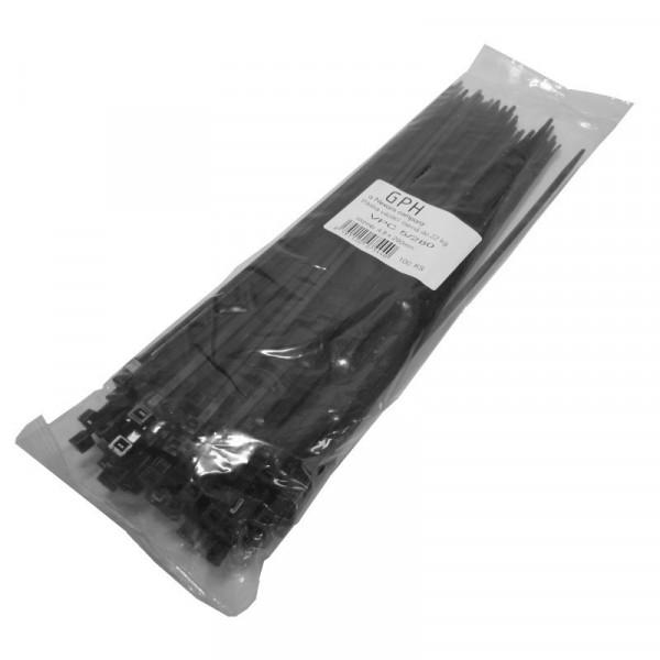 Stahovací páska 160 x 2,6 mm černá / 100ks