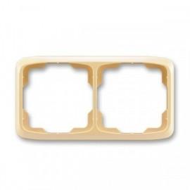Rámeček ABB TANGO 3901A-B20 D dvojnásobný vodorovný béžový