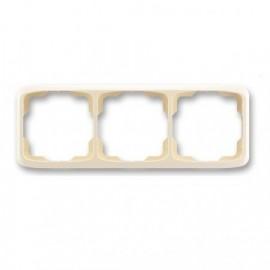 Rámeček ABB TANGO 3901A-B30 C trojnásobný vodorovný slonová kost