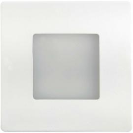LED orientační světlo DECENTLY 85x85mm, 1,7W, IP44, bílé