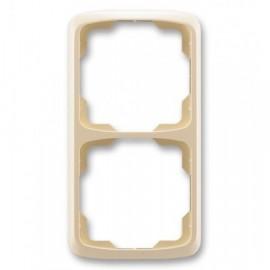 Rámeček ABB TANGO 3901A-B21 C dvojnásobný svislý slonová kost