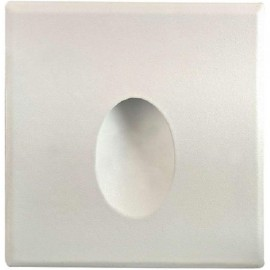 LED orientační světlo DECENTLY S1 85x85mm, 1,5W, bílé