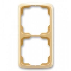 Rámeček ABB TANGO 3901A-B21 D dvojnásobný svislý béžový