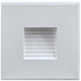 LED orientační světlo DECENTLY S2 85x85mm, 1,5W, bílé